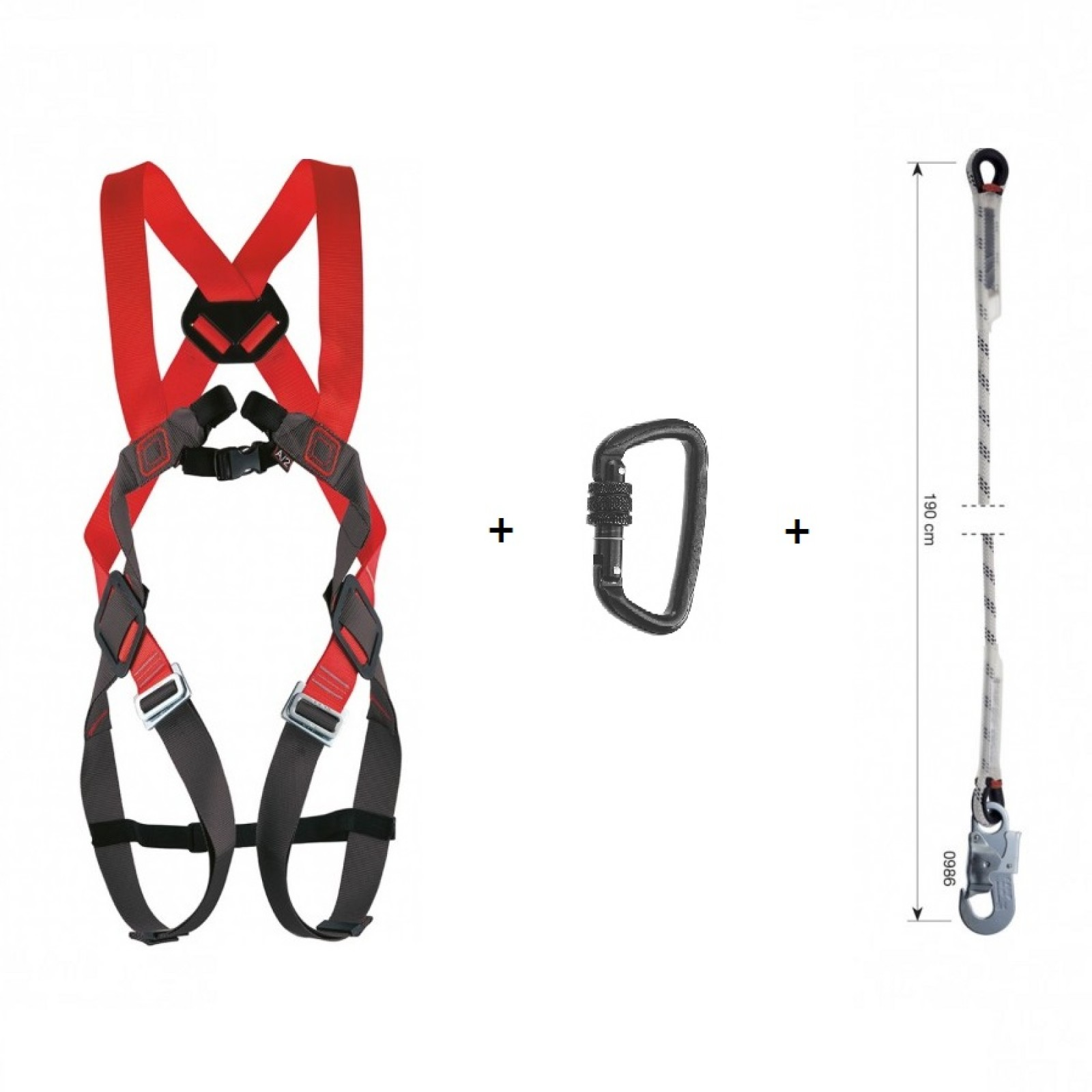 Camp Safety Harness And Lanyard Kit 1